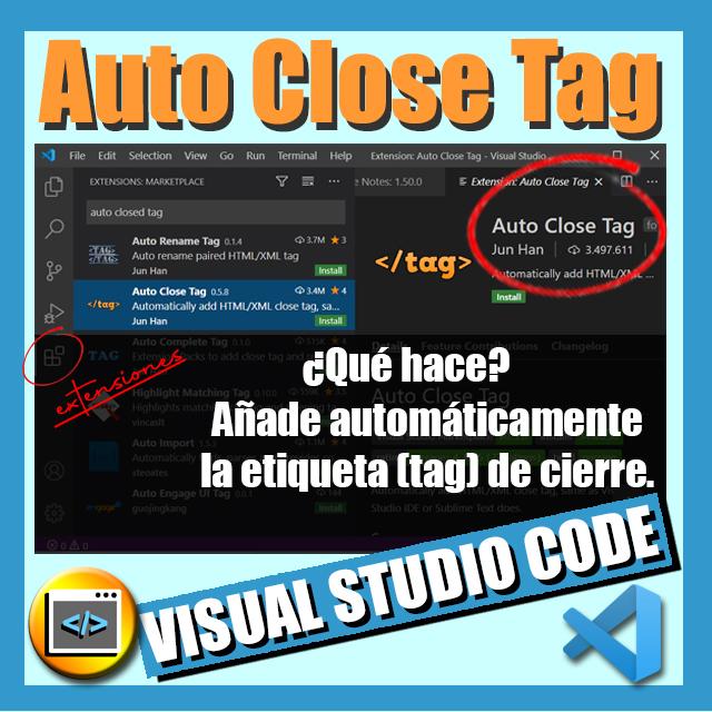 imagen extension vscode auto close tag